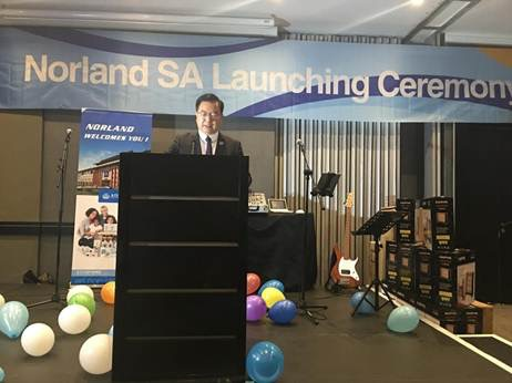 Norland South Africa - Launch Ceremony