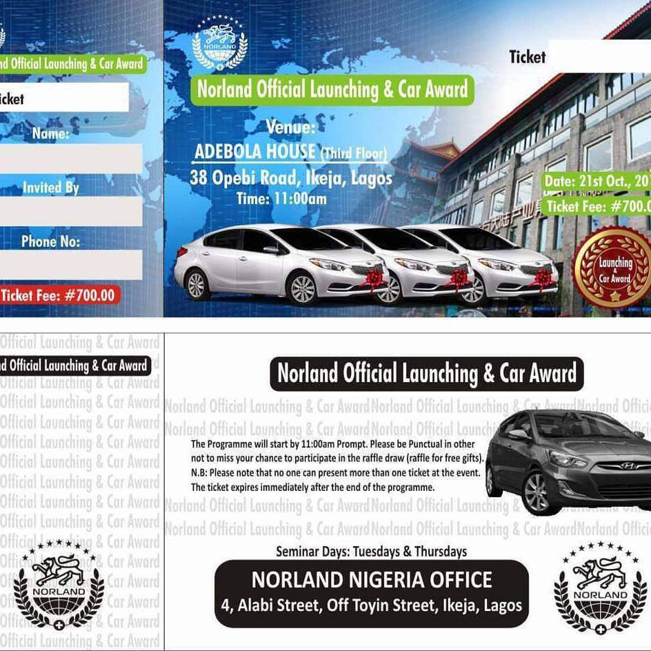 Norland Nigeria - Official Launch in Lagos